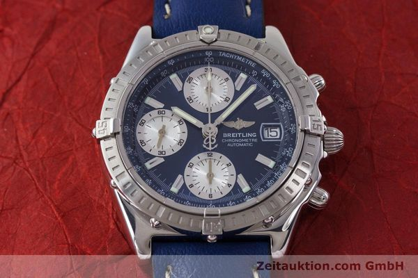 Used luxury watch Breitling Chronomat chronograph steel automatic Kal. B13 ETA 7750 Ref. A13352  | 161624 16