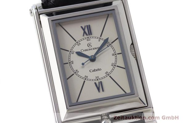 Used luxury watch Chronoswiss Cabrio steel automatic Kal. ETA 2671 Ref. CH2673  | 161628 02