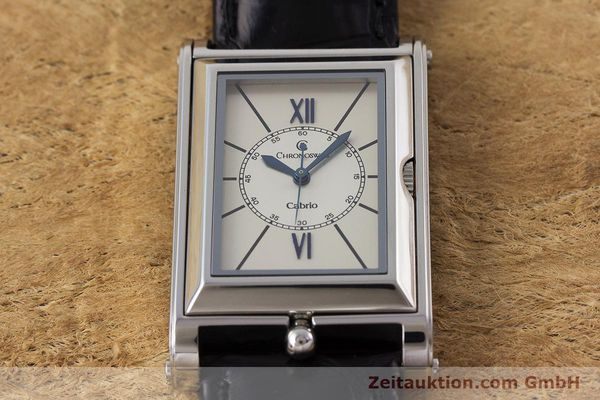 Used luxury watch Chronoswiss Cabrio steel automatic Kal. ETA 2671 Ref. CH2673  | 161628 16