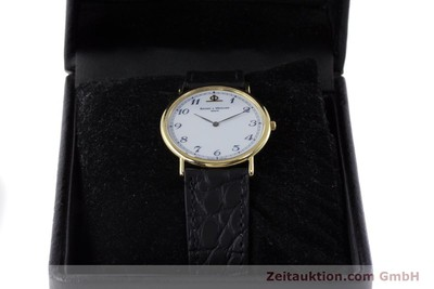 BAUME & MERCIER OR 18 CT QUARTZ KAL. BM 9098 ETA 210001 [161632]