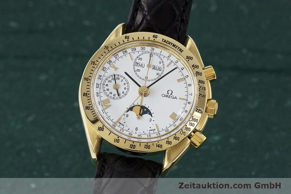 OMEGA SPEEDMASTER CHRONOGRAPHE OR 18 CT AUTOMATIQUE KAL. 1150 VALJ. 7751 LP: 14200EUR [161634]