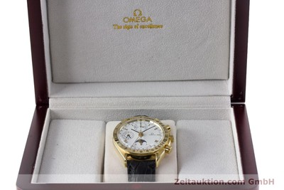 OMEGA SPEEDMASTER CHRONOGRAPH 18 CT GOLD AUTOMATIC KAL. 1150 VALJ. 7751 LP: 14200EUR [161634]