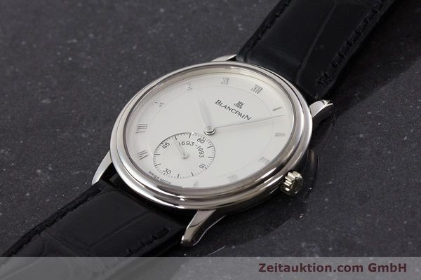 Used luxury watch Blancpain Villeret 18 ct white gold manual winding Kal. 64-1 Ref. 7001-1527-55 LIMITED EDITION | 161638 01