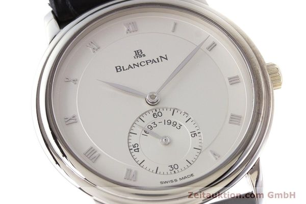 Used luxury watch Blancpain Villeret 18 ct white gold manual winding Kal. 64-1 Ref. 7001-1527-55 LIMITED EDITION | 161638 02