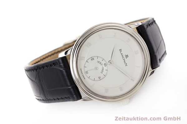 Used luxury watch Blancpain Villeret 18 ct white gold manual winding Kal. 64-1 Ref. 7001-1527-55 LIMITED EDITION | 161638 03