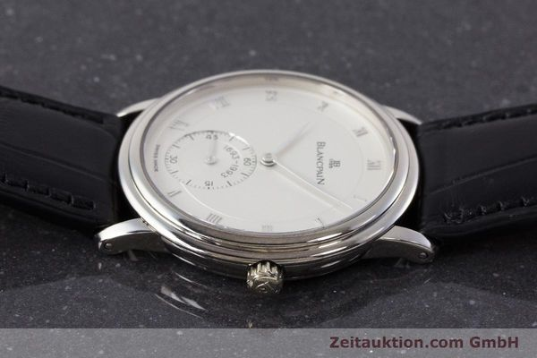 Used luxury watch Blancpain Villeret 18 ct white gold manual winding Kal. 64-1 Ref. 7001-1527-55 LIMITED EDITION | 161638 05