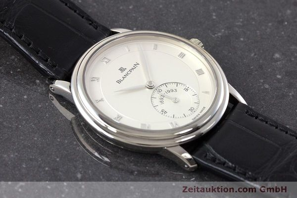 Used luxury watch Blancpain Villeret 18 ct white gold manual winding Kal. 64-1 Ref. 7001-1527-55 LIMITED EDITION | 161638 16