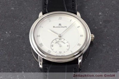 BLANCPAIN VILLERET 18 CT WHITE GOLD MANUAL WINDING KAL. 64-1 LP: 10910EUR [161638]