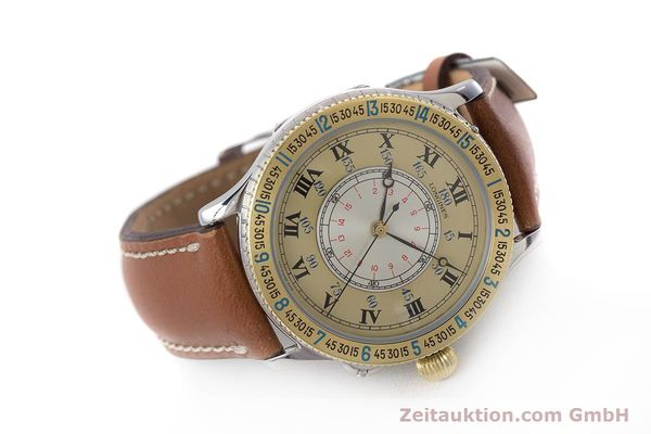 Used luxury watch Longines Lindbergh Stundenwinkel steel / gold automatic Kal. L989.2 Ref. 989.5215  | 161640 03