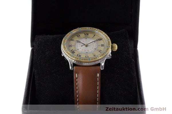 Used luxury watch Longines Lindbergh Stundenwinkel steel / gold automatic Kal. L989.2 Ref. 989.5215  | 161640 07