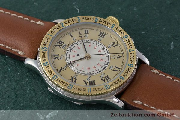 Used luxury watch Longines Lindbergh Stundenwinkel steel / gold automatic Kal. L989.2 Ref. 989.5215  | 161640 14
