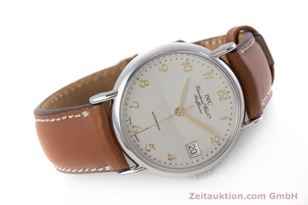 Used luxury watch IWC Portofino steel automatic Kal. 37521 Ref. 35131  | 161646 03