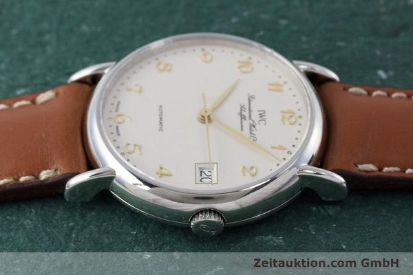 Used luxury watch IWC Portofino steel automatic Kal. 37521 Ref. 35131  | 161646 05