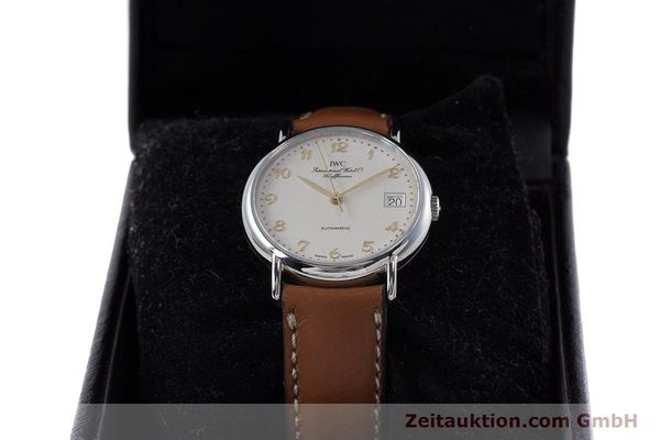 Used luxury watch IWC Portofino steel automatic Kal. 37521 Ref. 35131  | 161646 07