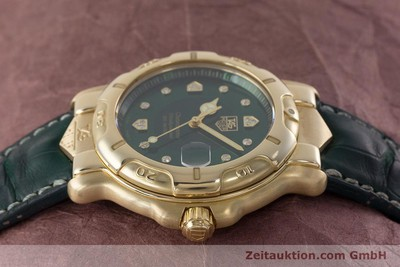 TAG HEUER 6000 GOLD OR 18 CT AUTOMATIQUE KAL. ETA 2892A2 LP: 8750EUR [161647]
