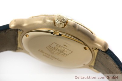 TAG HEUER 6000 18K GOLD CHRONOMETER AUTOMATIK DIAMANTEN HERRENUHR VP: 8750,- Euro [161647]