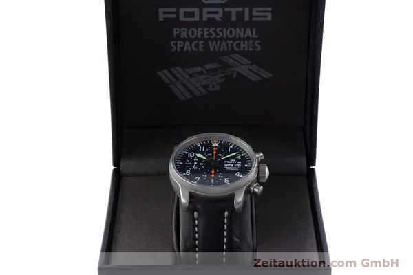 Used luxury watch Fortis Flieger Chronograph chronograph steel automatic Kal. ETA 7750 Ref. 597.10.141.2  | 161650 07