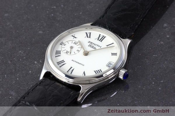 Used luxury watch Zenith Elite steel automatic Kal. 680 Ref. 90/01.0050.680  | 161651 01