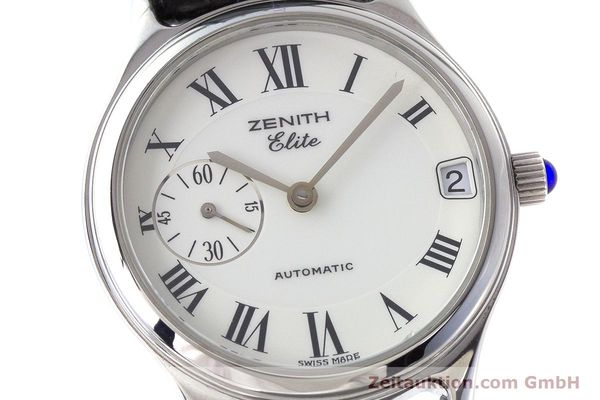 Used luxury watch Zenith Elite steel automatic Kal. 680 Ref. 90/01.0050.680  | 161651 02