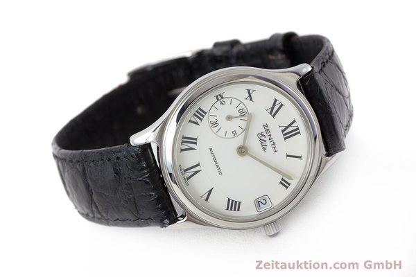 Used luxury watch Zenith Elite steel automatic Kal. 680 Ref. 90/01.0050.680  | 161651 03