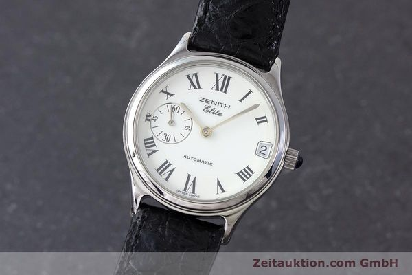 Used luxury watch Zenith Elite steel automatic Kal. 680 Ref. 90/01.0050.680  | 161651 04