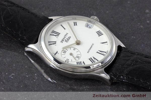 Used luxury watch Zenith Elite steel automatic Kal. 680 Ref. 90/01.0050.680  | 161651 13
