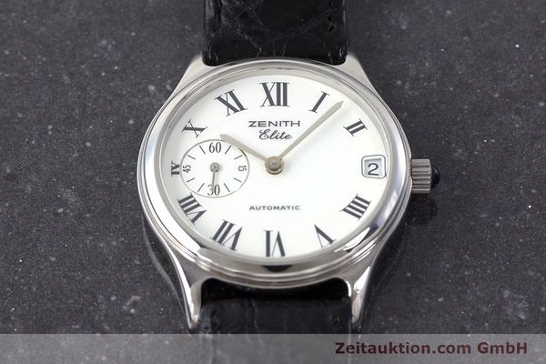 Used luxury watch Zenith Elite steel automatic Kal. 680 Ref. 90/01.0050.680  | 161651 14