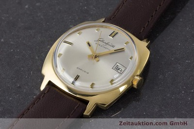 GLASHÜTTE SPEZIMATIC GOLD-PLATED AUTOMATIC KAL. 75 VINTAGE [161654]