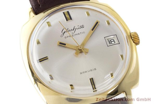 Used luxury watch Glashütte Spezimatic gold-plated automatic Kal. 75 VINTAGE  | 161654 02