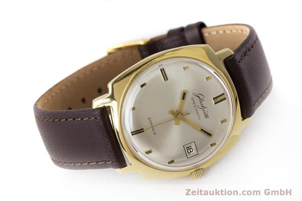 Used luxury watch Glashütte Spezimatic gold-plated automatic Kal. 75 VINTAGE  | 161654 03