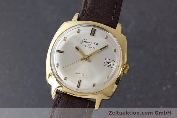 Used luxury watch Glashütte Spezimatic gold-plated automatic Kal. 75 VINTAGE  | 161654 04
