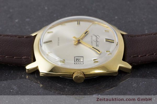 Used luxury watch Glashütte Spezimatic gold-plated automatic Kal. 75 VINTAGE  | 161654 05