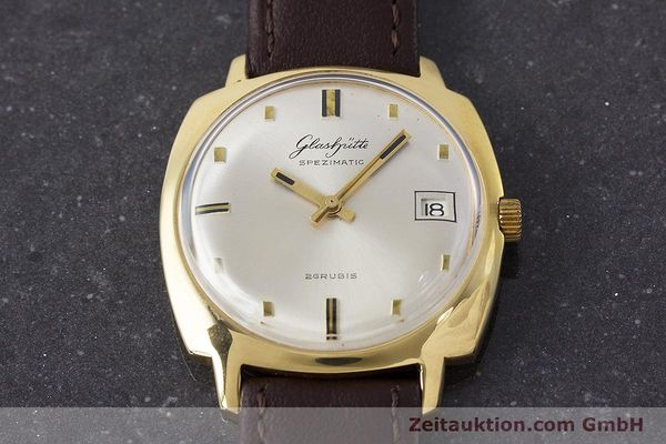 Used luxury watch Glashütte Spezimatic gold-plated automatic Kal. 75 VINTAGE  | 161654 13