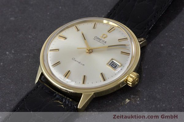 Used luxury watch Omega * 18 ct gold automatic Kal. 565 Ref. 1663034  | 161656 01