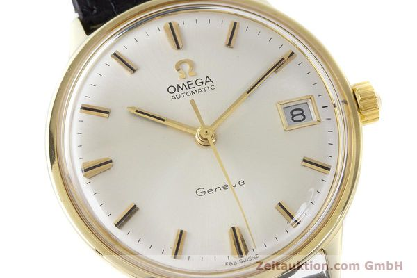 Used luxury watch Omega * 18 ct gold automatic Kal. 565 Ref. 1663034  | 161656 02