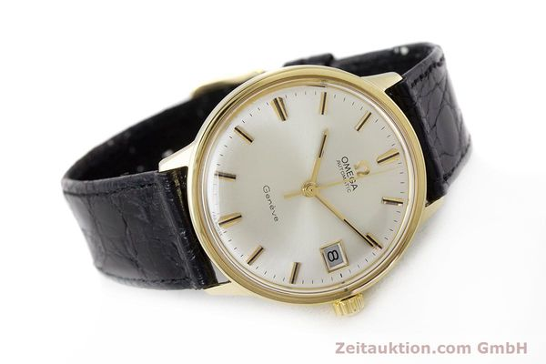 Used luxury watch Omega * 18 ct gold automatic Kal. 565 Ref. 1663034  | 161656 03