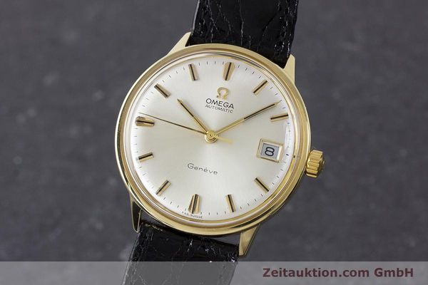 Used luxury watch Omega * 18 ct gold automatic Kal. 565 Ref. 1663034  | 161656 04