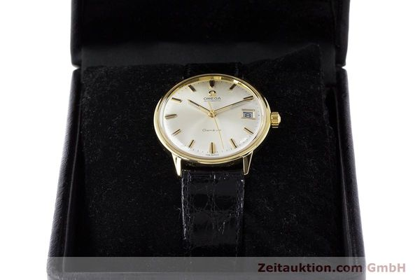 Used luxury watch Omega * 18 ct gold automatic Kal. 565 Ref. 1663034  | 161656 07