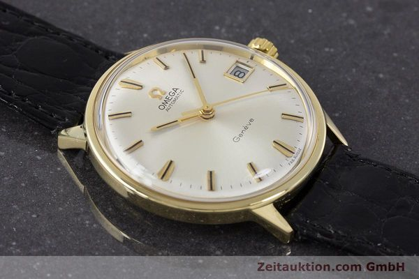 Used luxury watch Omega * 18 ct gold automatic Kal. 565 Ref. 1663034  | 161656 14