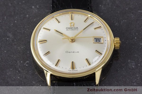 Used luxury watch Omega * 18 ct gold automatic Kal. 565 Ref. 1663034  | 161656 15