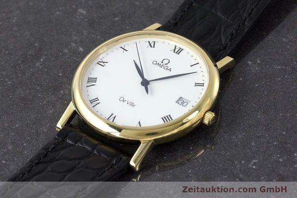 Used luxury watch Omega De Ville 18 ct gold quartz Kal. 1532 Ref. 1962432  | 161658 01
