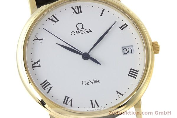 Used luxury watch Omega De Ville 18 ct gold quartz Kal. 1532 Ref. 1962432  | 161658 02