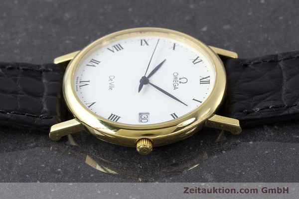 Used luxury watch Omega De Ville 18 ct gold quartz Kal. 1532 Ref. 1962432  | 161658 05