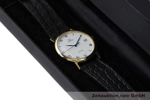 Used luxury watch Omega De Ville 18 ct gold quartz Kal. 1532 Ref. 1962432  | 161658 07