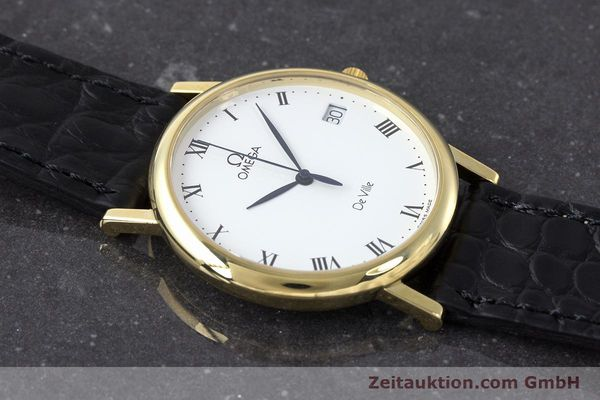 Used luxury watch Omega De Ville 18 ct gold quartz Kal. 1532 Ref. 1962432  | 161658 13