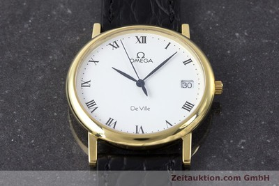 OMEGA DE VILLE 18 CT GOLD QUARTZ KAL. 1532 LP: 7340EUR [161658]
