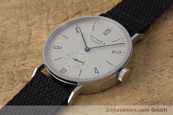 Used luxury watch Nomos Tangomat steel automatic Kal. Zeta  | 161659 01