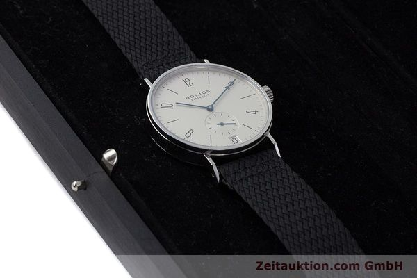 Used luxury watch Nomos Tangomat steel automatic Kal. Zeta  | 161659 07