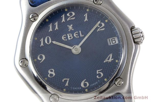 Used luxury watch Ebel 1911 steel quartz Kal. 688 Ref. 988901  | 161666 02