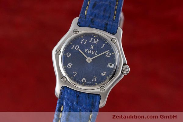 EBEL 1911 STEEL QUARTZ KAL. 688 LP: 1200EUR [161666]